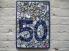 50th birthday plaque