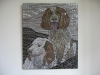 dogs mosaic