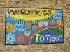 Torridon Infants family project mural